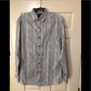 English Laundry designer button shirt M